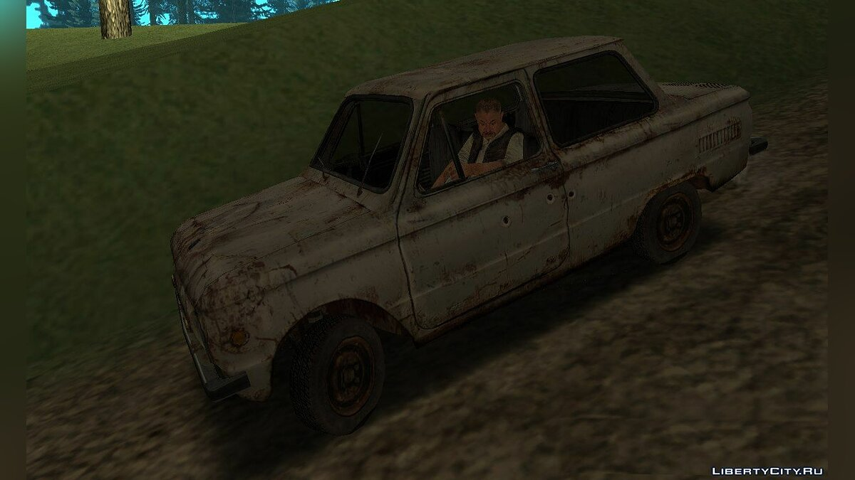 ZAZ car ZAZ-968M from S.T.A.L.K.E.R .: Shadow of Chernobyl for GTA San Andreas