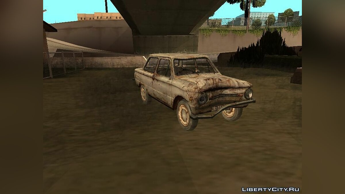 ZAZ car Zaporozhets from STALKER. for GTA San Andreas