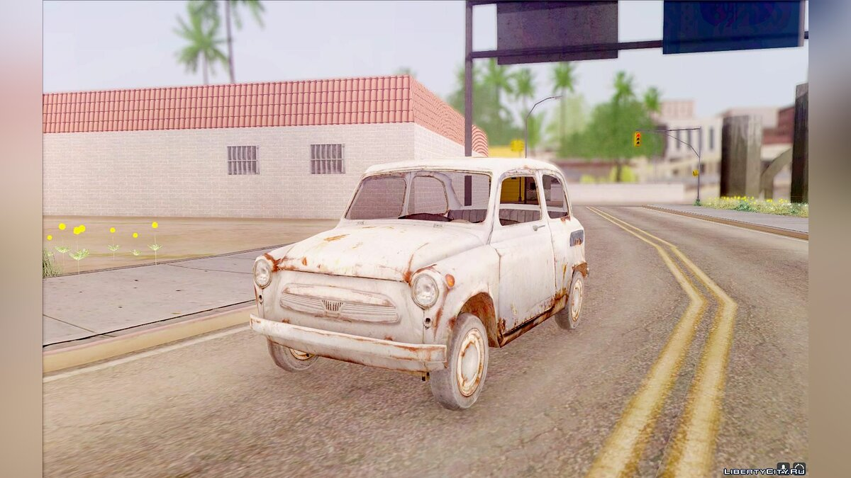 ZAZ car ZAZ 965 from S.T.A.L.K.E.R. for GTA San Andreas