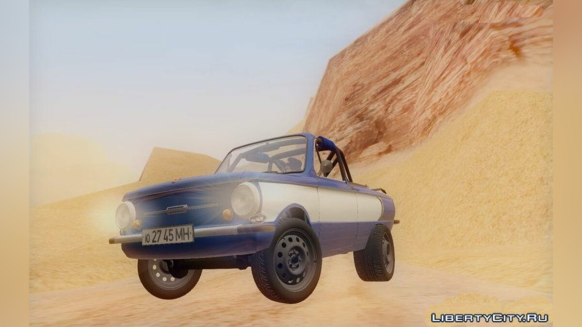 ZAZ car ZAZ 968 in the style of Off-Road for GTA San Andreas