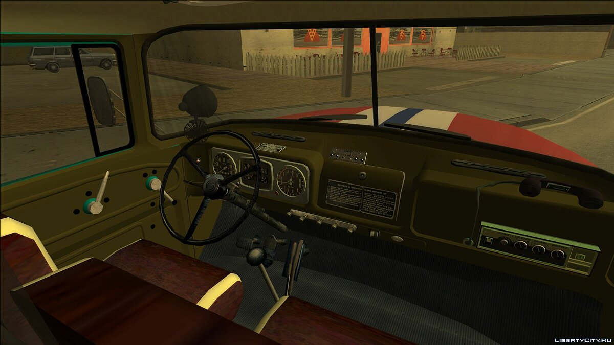 ZIL car ZIL 131 (Ministry of Emergency Situations of Belarus) for GTA San Andreas
