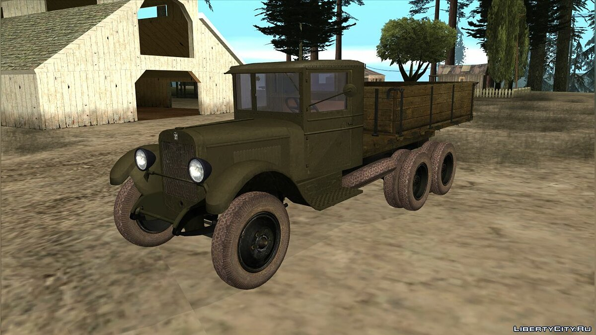 ZIL car 1934 ZiS-6 for GTA San Andreas