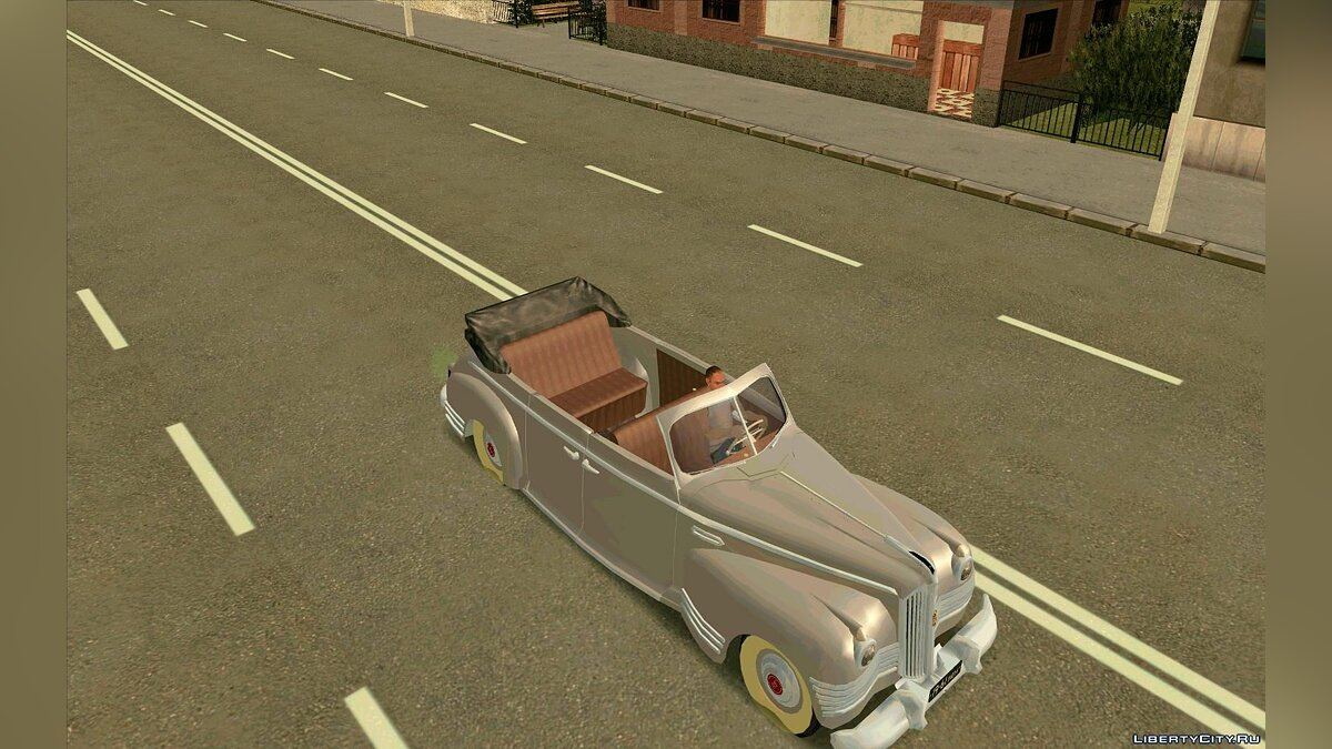 ZIL car ZiS-110B Phaeton for GTA San Andreas