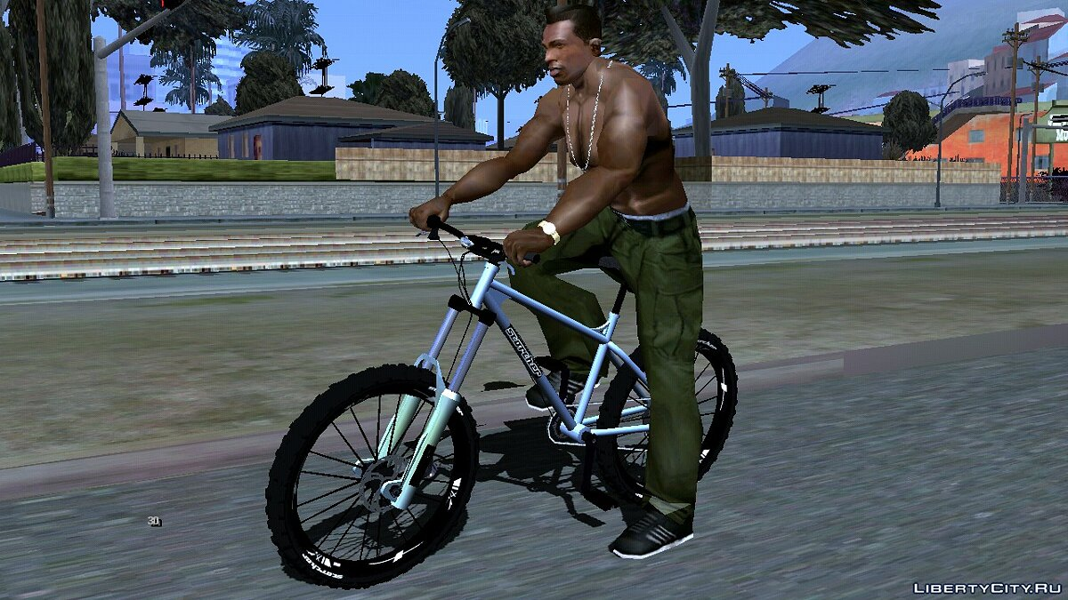 Bicycle Scorcher from GTA 5 for GTA San Andreas (iOS, Android)