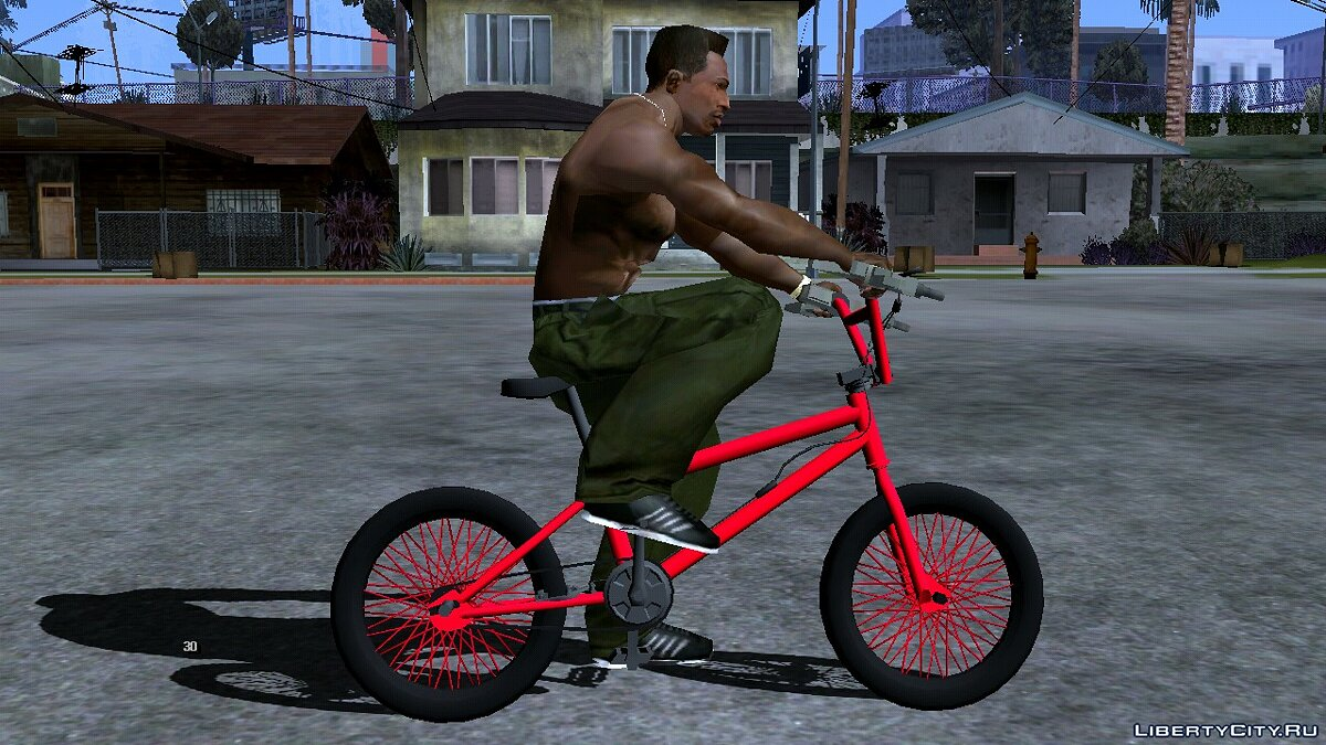 Bicycle BMX Enhance (DFF only) for GTA San Andreas (iOS, Android)