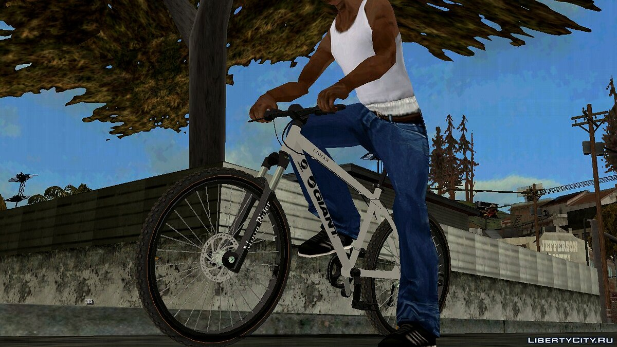 Bicycle Mountain bike for GTA San Andreas (iOS, Android)