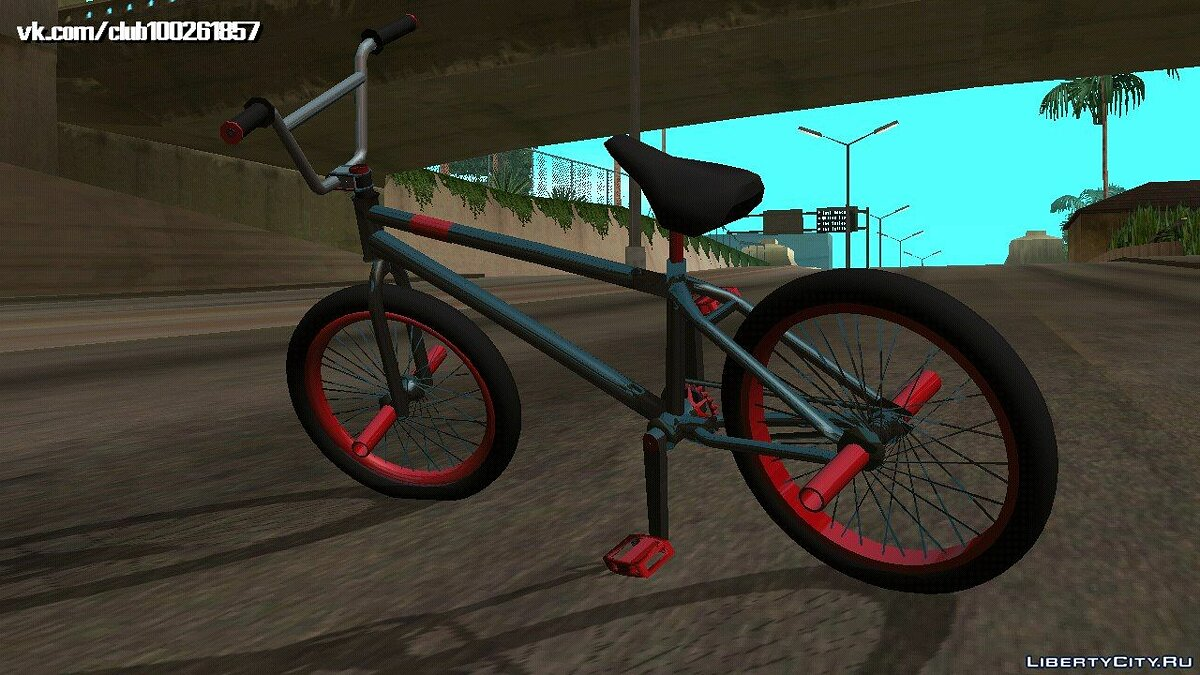 Bicycle BMX (DFF only) for GTA San Andreas (iOS, Android)