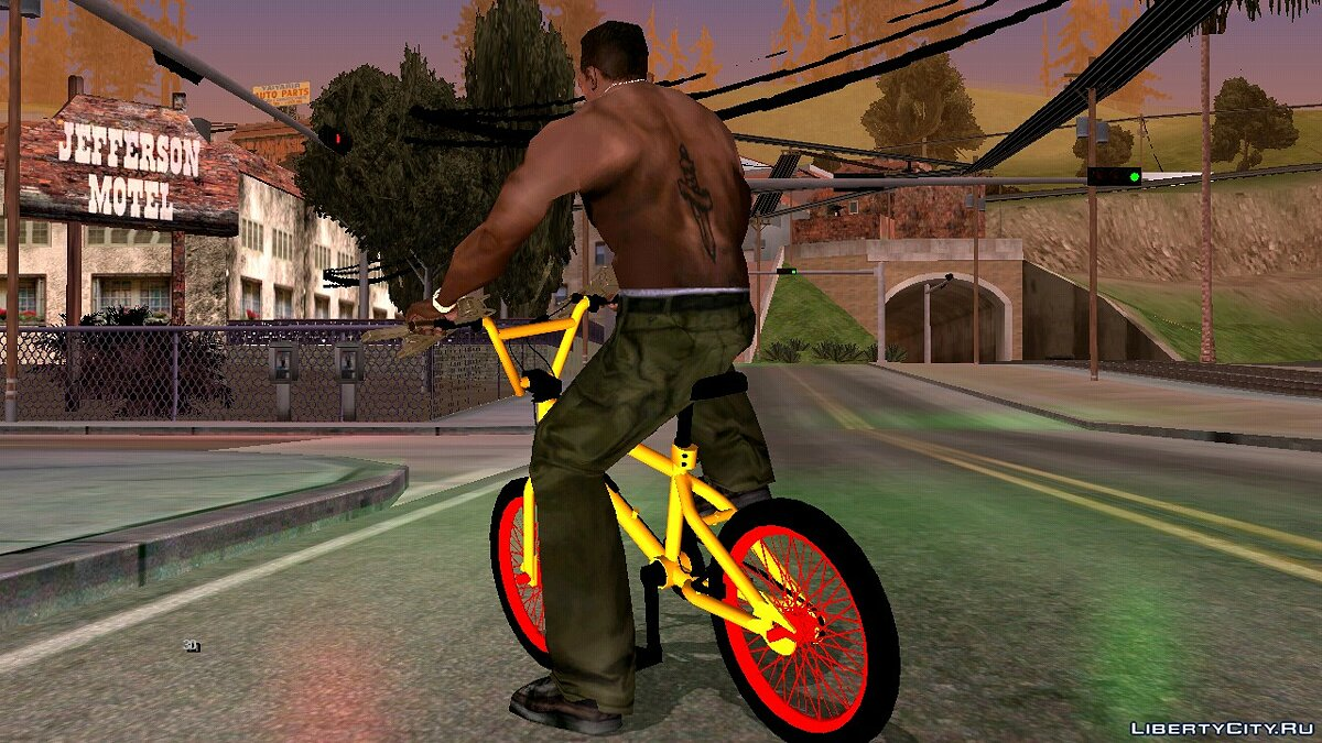 Bicycle BMX from GTA 5 (DFF only) for GTA San Andreas (iOS, Android)