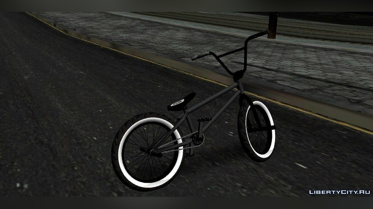 Bicycle BMX for GTA San Andreas (iOS, Android)