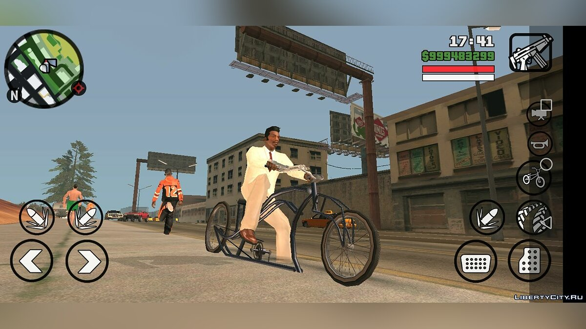 Bicycle Low Rider - Only DFF for GTA San Andreas (iOS, Android)