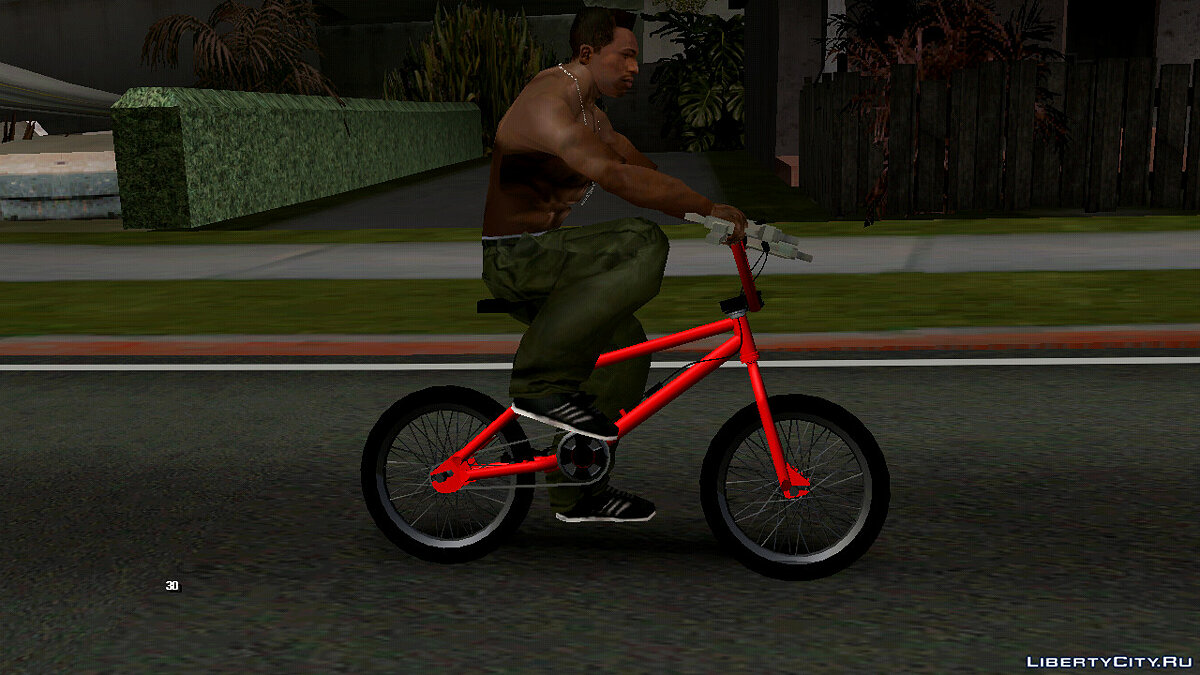 Bicycle GTA 5 BMX (DFF only) for GTA San Andreas (iOS, Android)