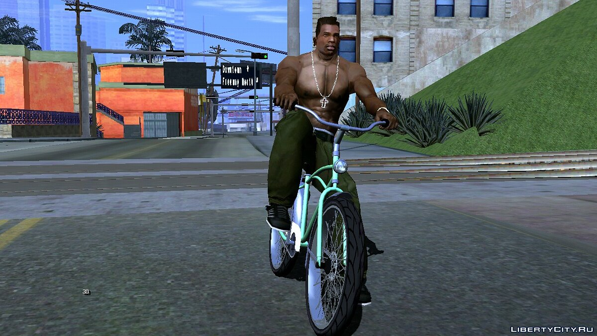 Bicycle Cruiser from GTA 5 for GTA San Andreas (iOS, Android)