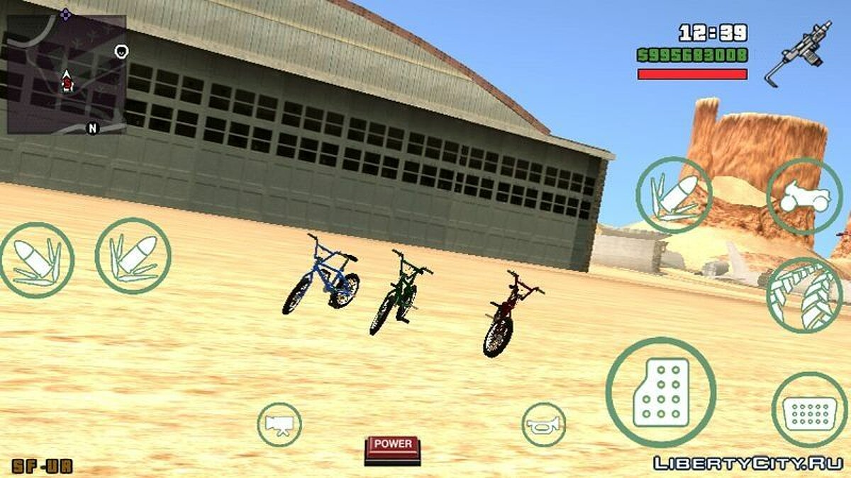 Bicycle GTA V Bike for GTA San Andreas (iOS, Android)