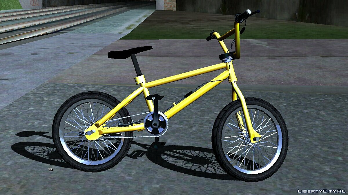 Bicycle BMX from GTA 5 for GTA San Andreas (iOS, Android)