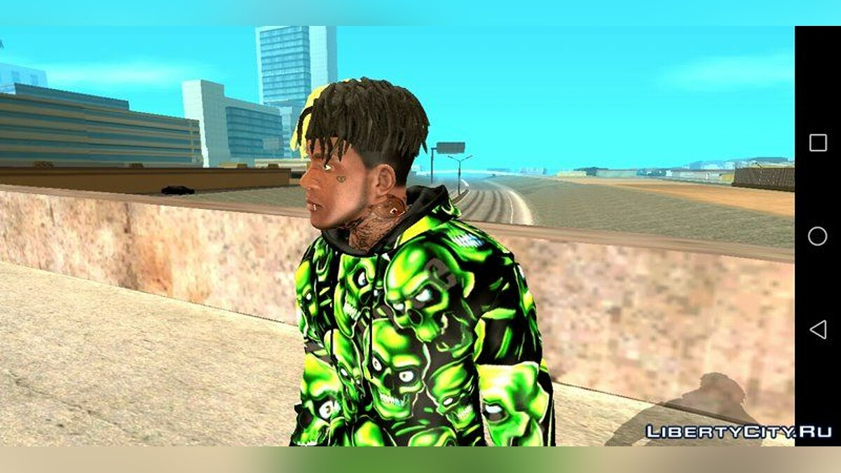 Pullovers and T-shirts Franklin SWAG Clothing Pack for GTA San Andreas (iOS, Android)