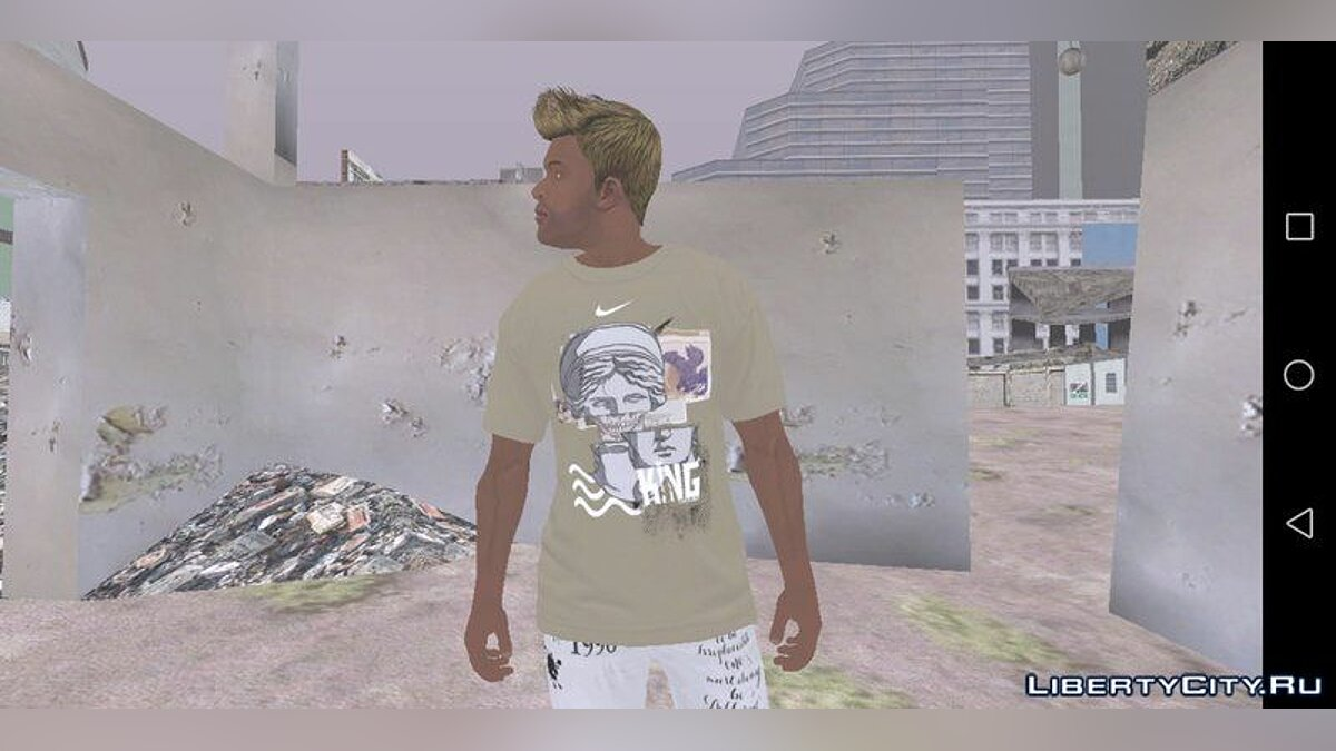 Pullovers and T-shirts Сборник одежды для Франклина SWAG for GTA San Andreas (iOS, Android)
