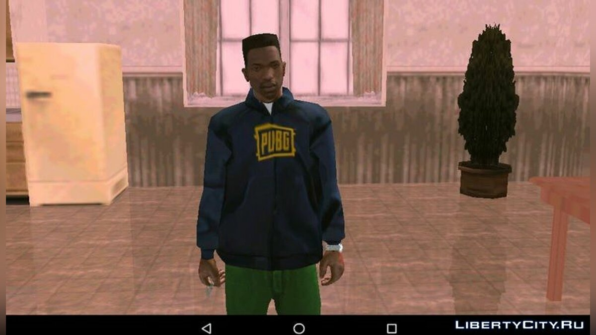 Pullovers and T-shirts Sweatshirt (Hoodie) PUBG for GTA San Andreas (iOS, Android)