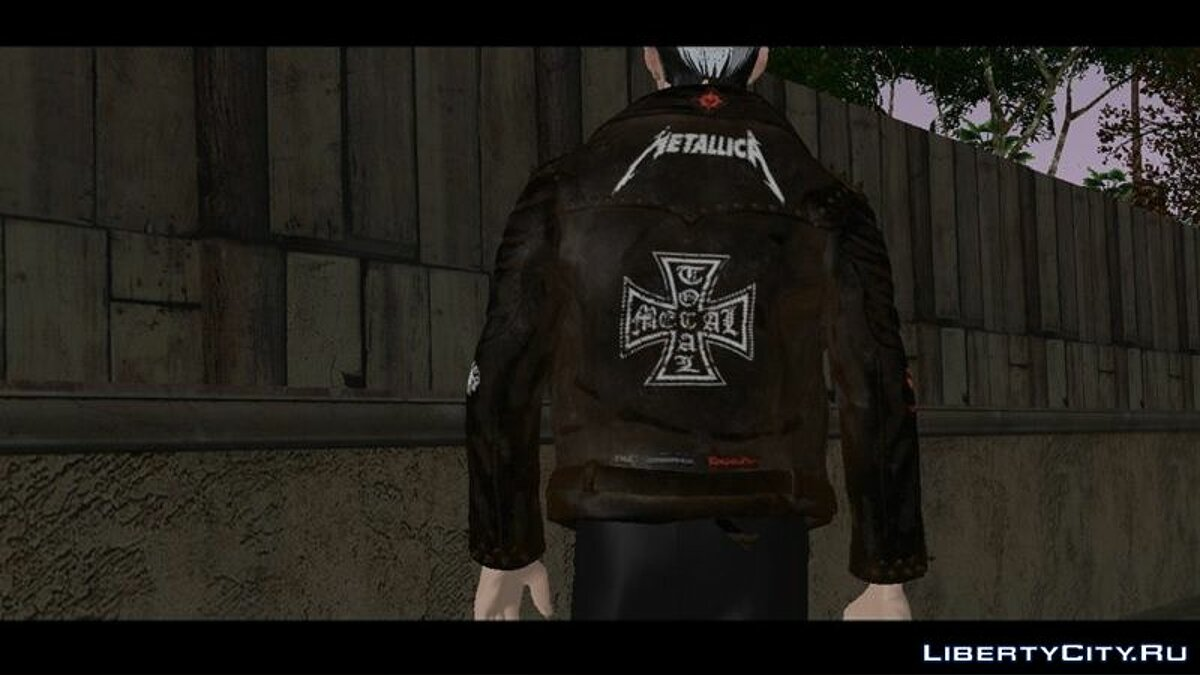 Pullovers and T-shirts Rocker jacket for GTA San Andreas (iOS, Android)