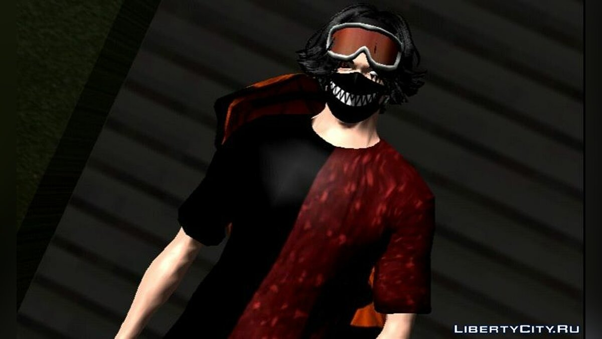 Pullovers and T-shirts Bape red for GTA San Andreas (iOS, Android)