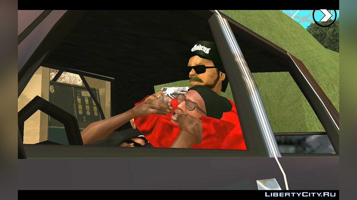 Pullovers and T-shirts Red shirt for Ryder for GTA San Andreas (iOS, Android)
