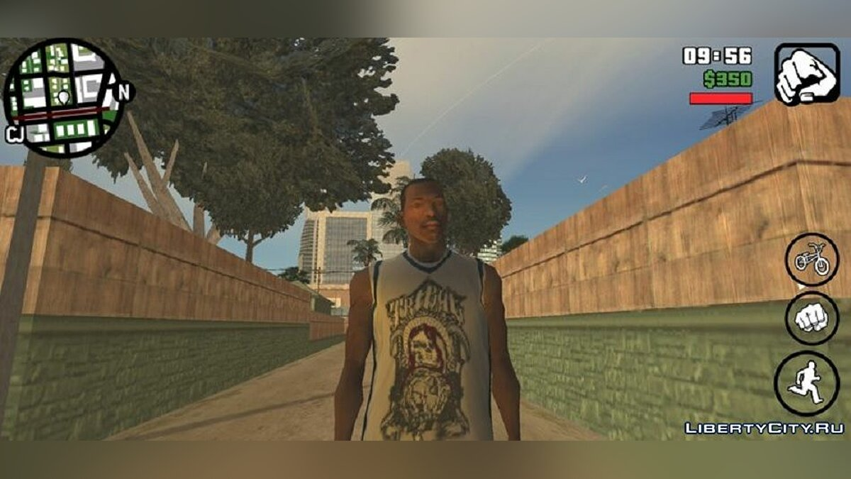 Pullovers and T-shirts Tribal Shirt And Jersey for GTA San Andreas (iOS, Android)