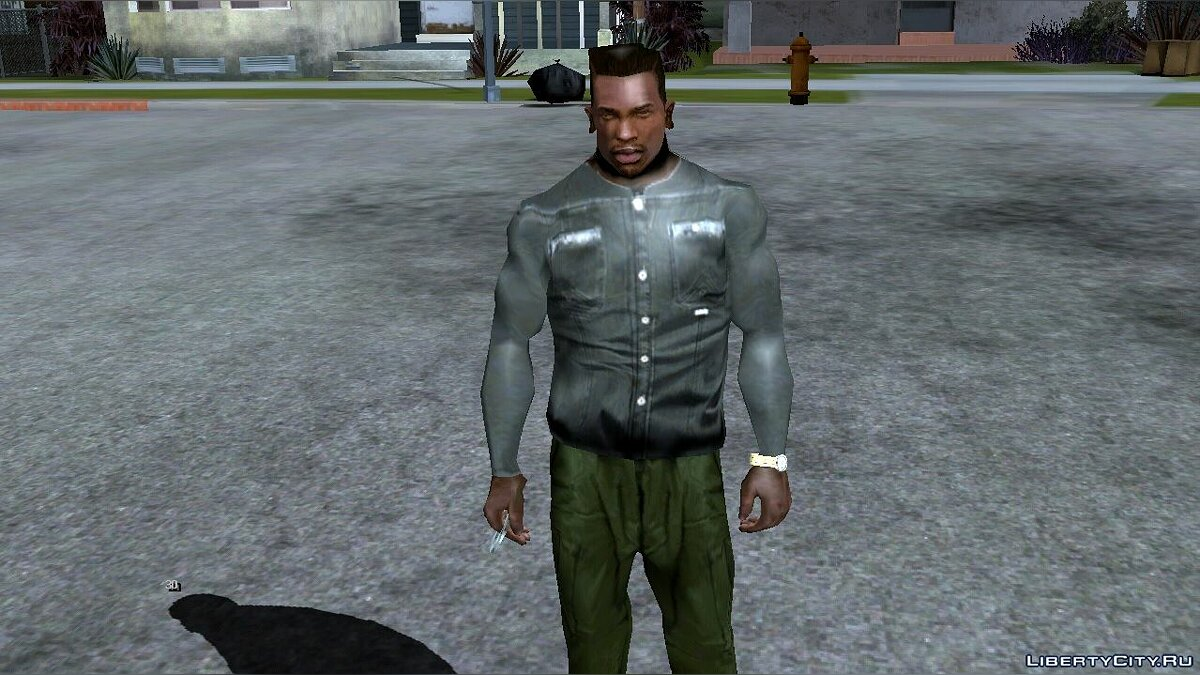 Pullovers and T-shirts Large collection of clothes and tattoos for GTA San Andreas (iOS, Android)