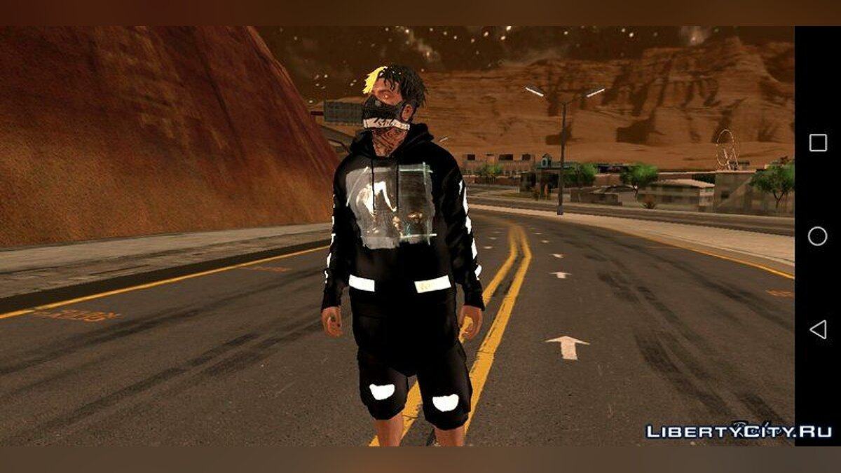Pullovers and T-shirts SWAG clothes for Franklin 2019 HD for GTA San Andreas (iOS, Android)