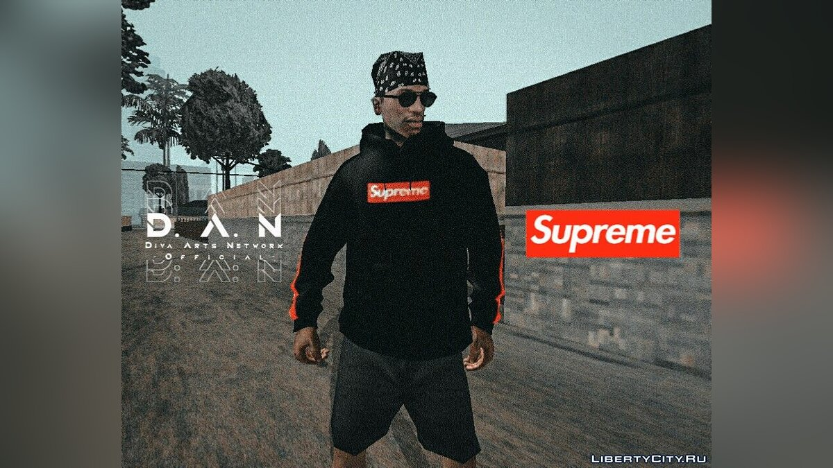 Pullovers and T-shirts 6 новых худи for GTA San Andreas (iOS, Android)