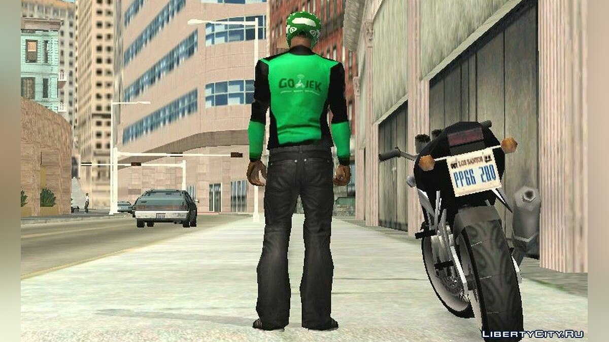 Pullovers and T-shirts Jacket company Godzhek for GTA San Andreas (iOS, Android)