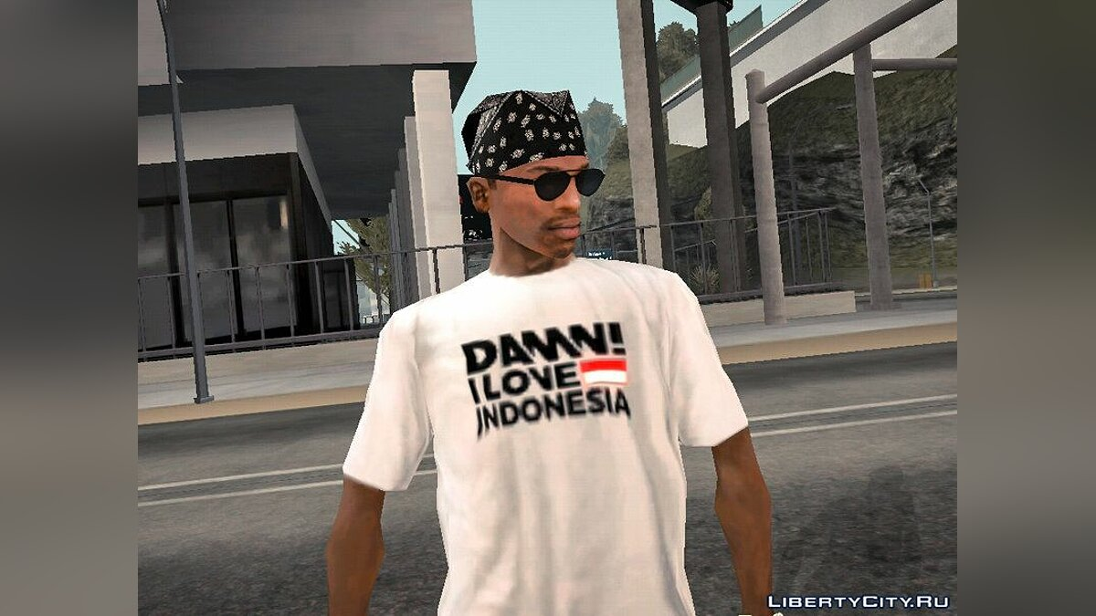 Pullovers and T-shirts Футболка DILIND for GTA San Andreas (iOS, Android)