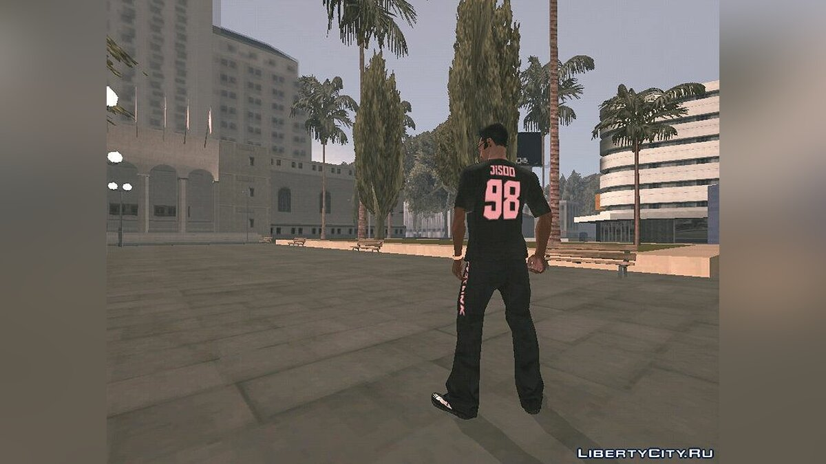 Pullovers and T-shirts Футболка и штаны BLACKPINK for GTA San Andreas (iOS, Android)