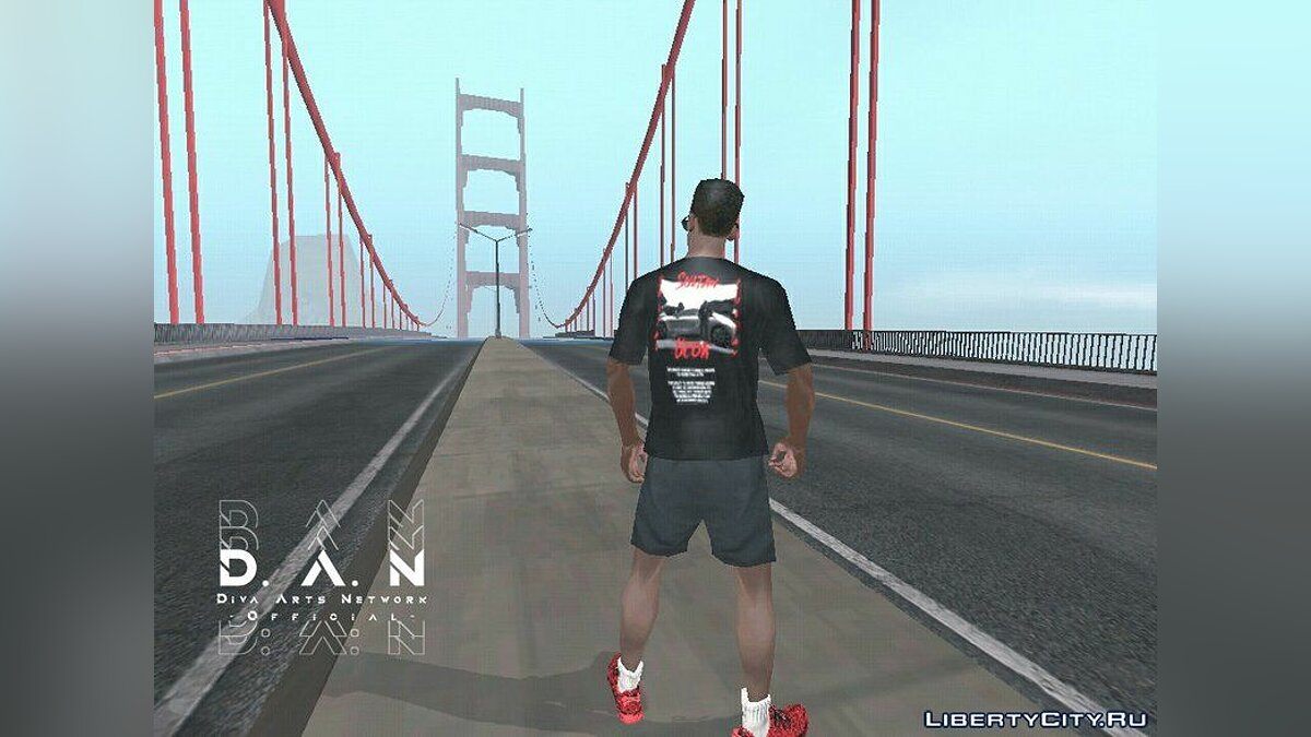 Pullovers and T-shirts Футболка SU for GTA San Andreas (iOS, Android)