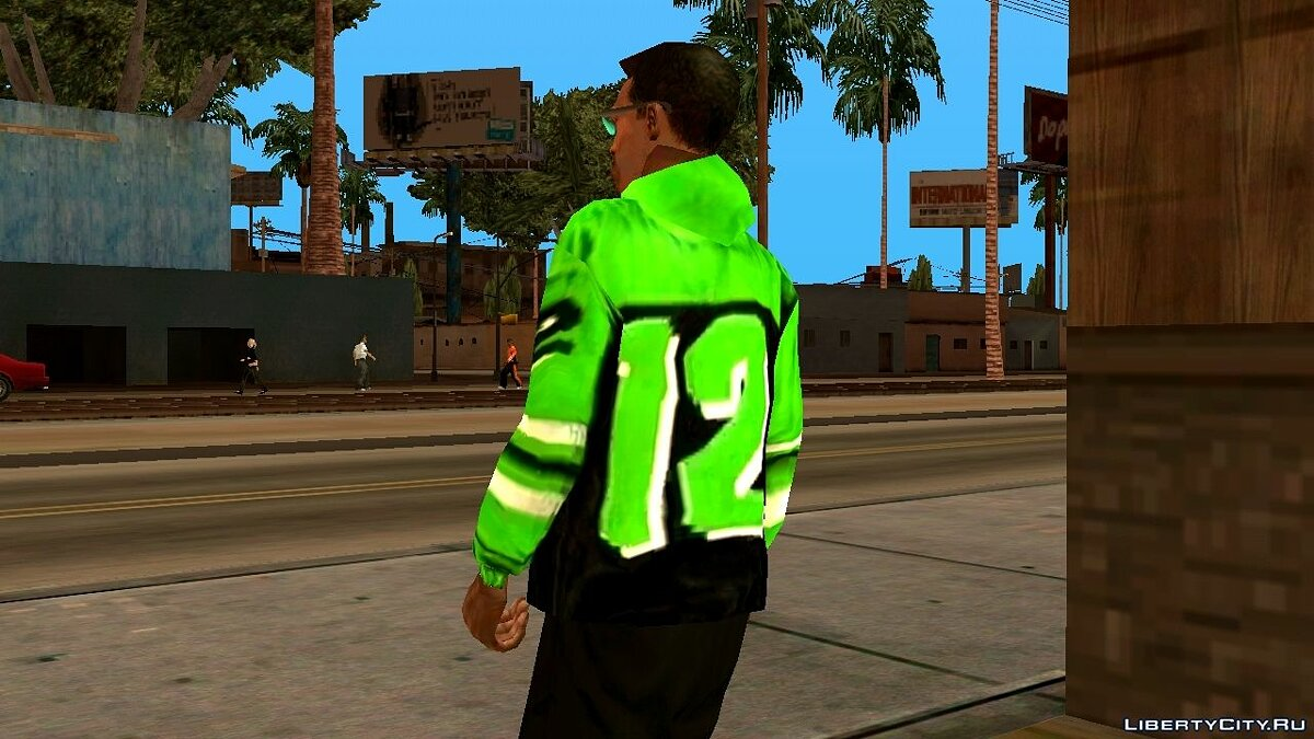"Colored sweatshirts ""12"" for GTA San Andreas (iOS, Android) - Картинка #9"