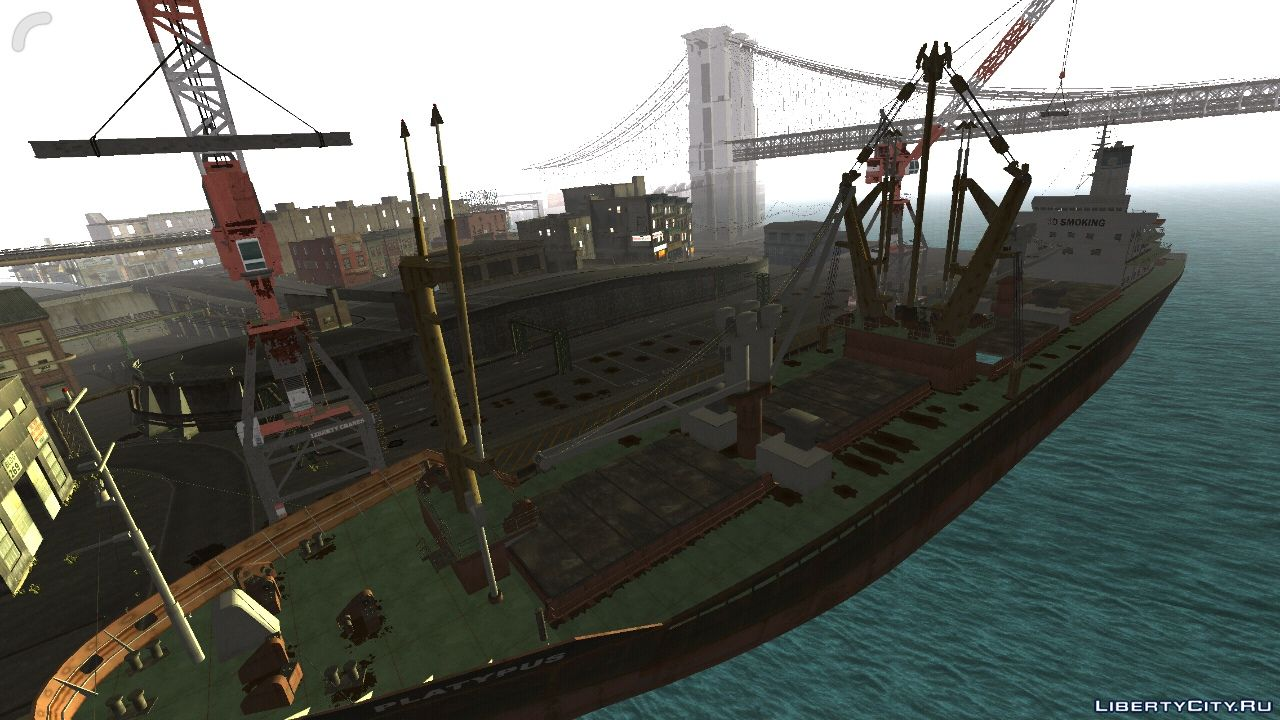 GTA IV2SA Mobile Beta (Android) - Liberty City from GTA 4