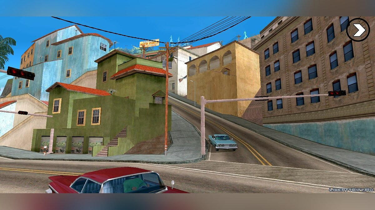 Global mod Rosa Project: HD textures for Los Santos for GTA San Andreas (iOS, Android)