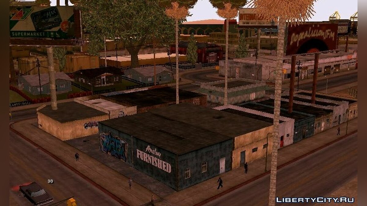 Global mod Sire Project - Improved Textures [Android] for GTA San Andreas (iOS, Android)