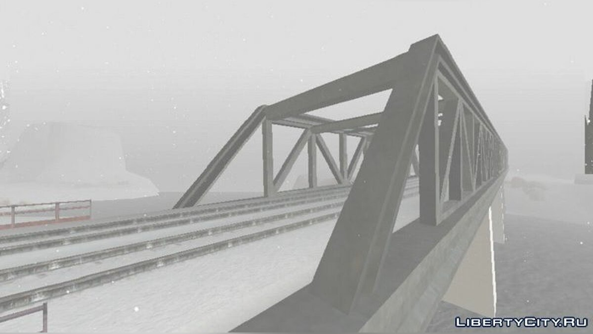 Global mod Winter Edition 2021 v2.1 for GTA San Andreas (iOS, Android)