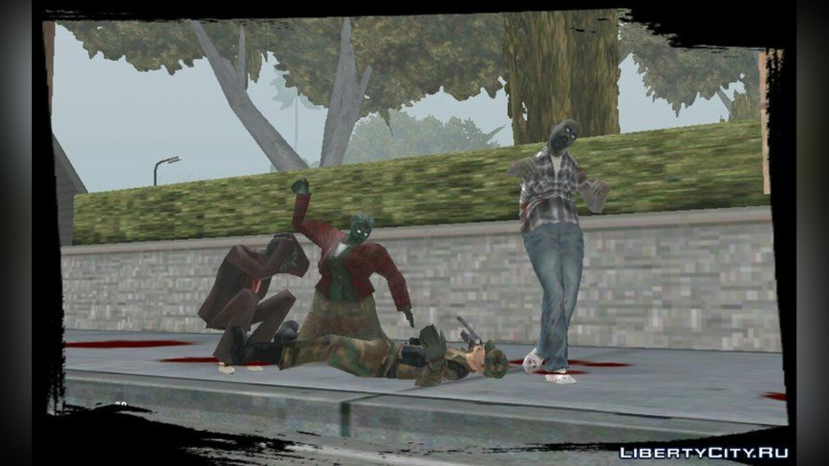 Zombie Mod for Android v1.5 for GTA San Andreas (iOS, Android)