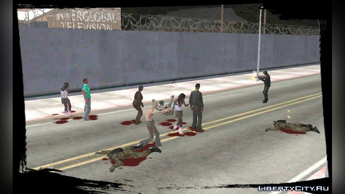Zombie Mod for Android v1.5 for GTA San Andreas (iOS, Android) - screenshot #3