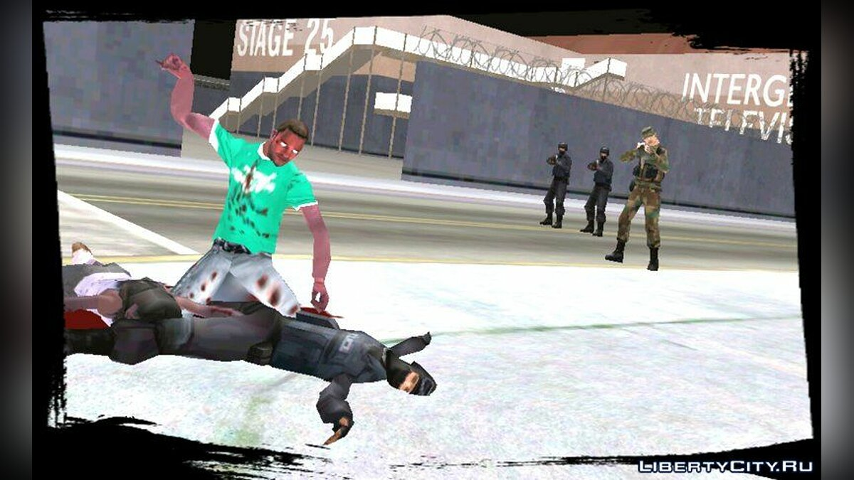 Zombie Mod for Android v1.5 for GTA San Andreas (iOS, Android) - screenshot #4
