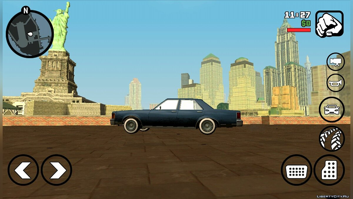 Global mod GTA IV2SA Mobile Demo (Android) - Liberty City from GTA 4 for GTA San Andreas (iOS, Android)