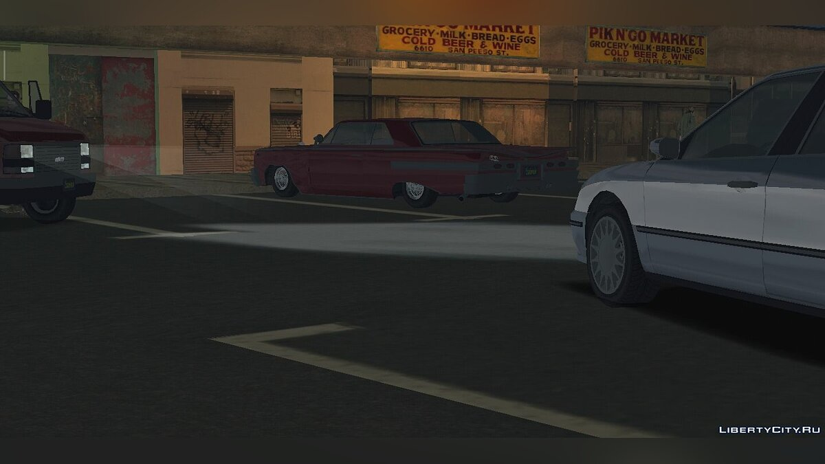 Global mod GRAND THEFT AUTO IV Atmosphere for GTA San Andreas (iOS, Android)