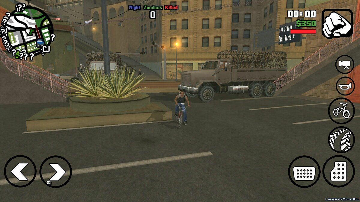 Night Zombie 0.4 (beta) for GTA San Andreas (iOS, Android) - screenshot #6