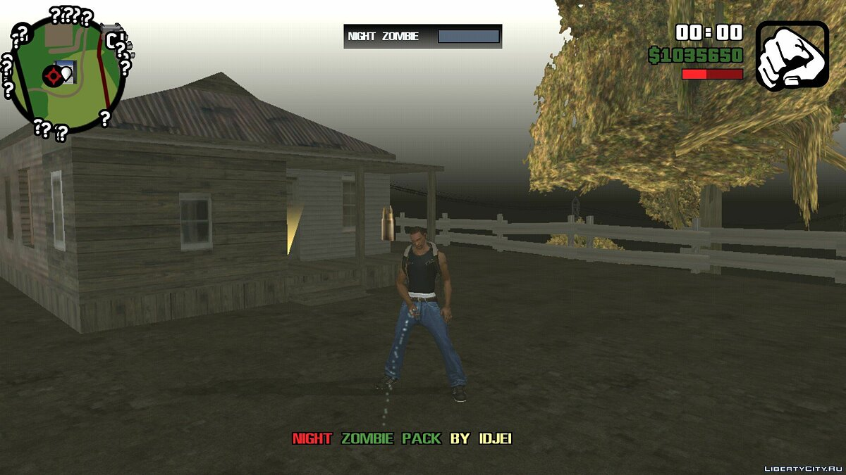 Night Zombie 0.4 (beta) for GTA San Andreas (iOS, Android) - screenshot #8