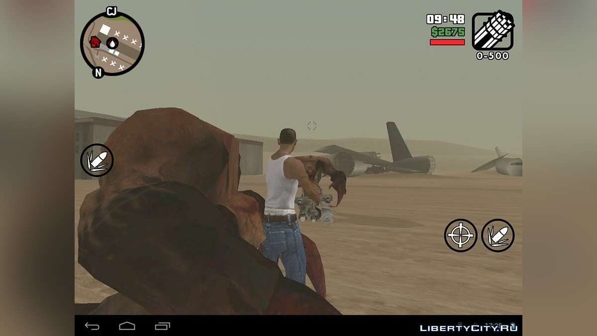 Misterix mod 9.0 Fixed for GTA San Andreas (iOS, Android)
