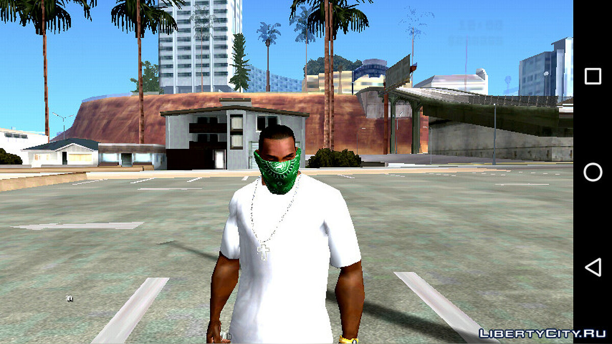 Hats Pack of updated bandanas for GTA San Andreas (iOS, Android)