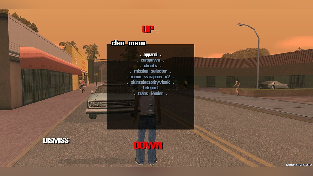 Program CLEO GTA SA 2.0 without Root rights for GTA San Andreas (iOS, Android)