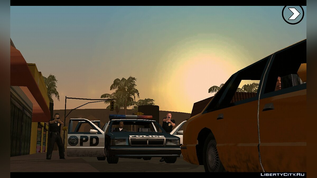 Program Ultimate GTA SA APK (1.08) for GTA San Andreas (iOS, Android)