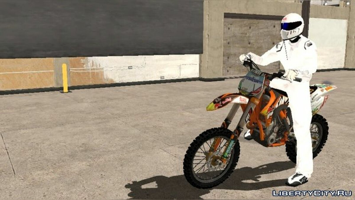 Motorbike KTM 450 SX-F for GTA San Andreas (iOS, Android)