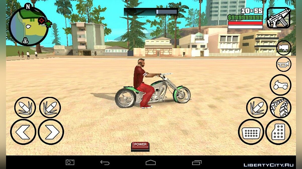 Motorbike LLC Innovation Copper из GTA 5! for GTA San Andreas (iOS, Android)